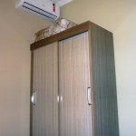 Ar-Condicionado quarto Pousada La Villa em Jaú