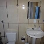 Banheiro da Pousada em Jaú